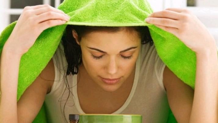 Steam Facial for oily skin