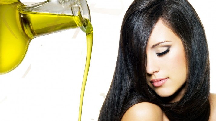 Dry hair treatment from kitchen