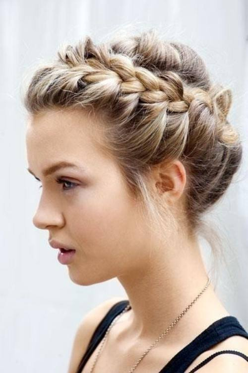 Braid Hair Style Simple Braid Hair Style  Beauty And Style