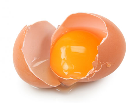 Hair loss treatment with egg mask