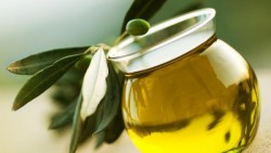 Olive oil for dry hair
