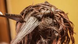 How to apply heena on gray hair
