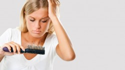 Silicon hair treatment for hair lose