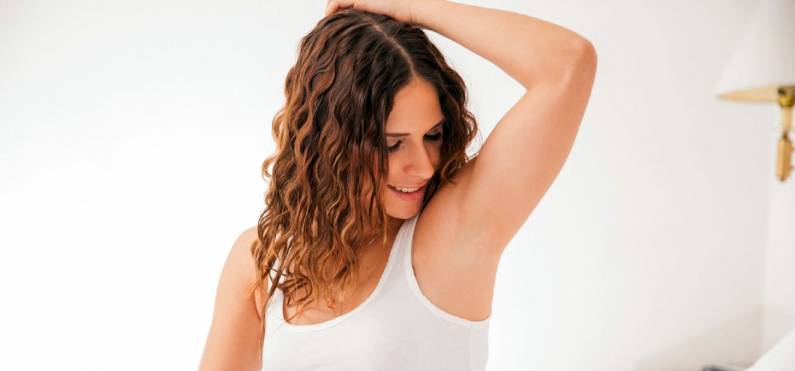 Use of baking soda for whiten under arms