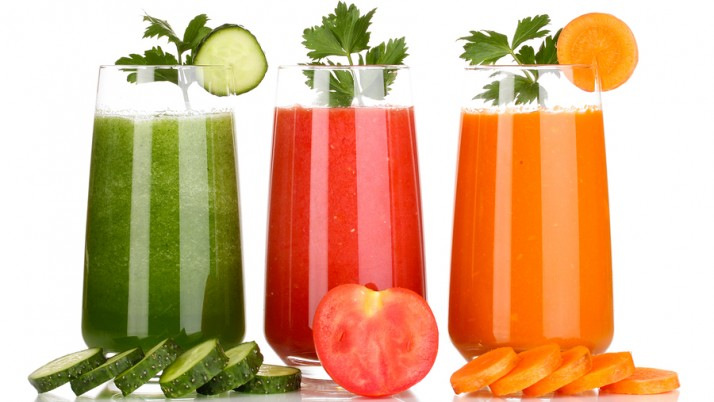 VEGETABLE JUICES FOR NATURALLY GLOWING SKIN