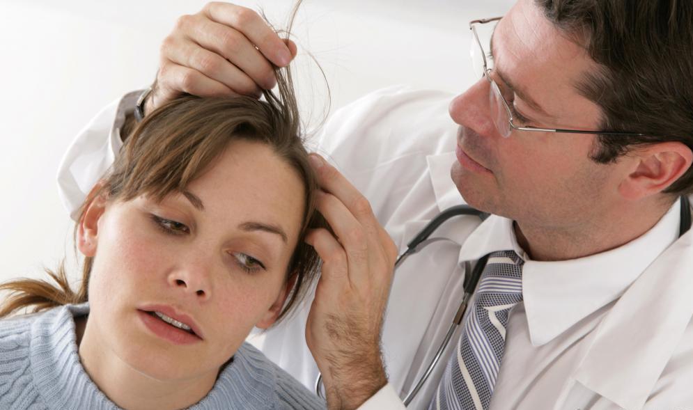 Cure hair fungal