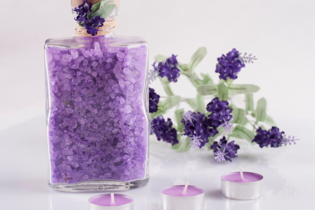 Lavender bath salt recipe