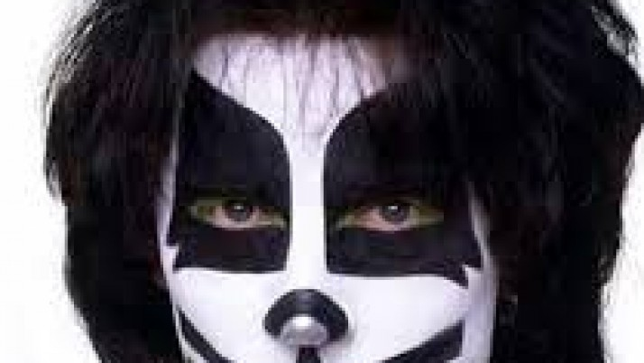 Peter criss(kiss) make up