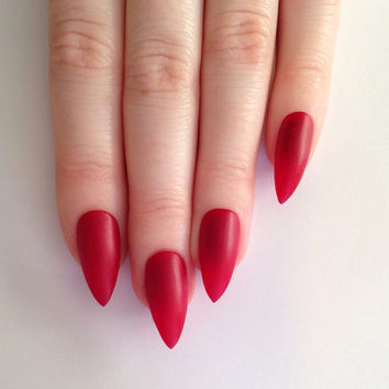 Red Nail Art Tutorial Beauty And Style