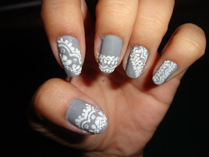 Hand Paint Nail Art Beauty And Style