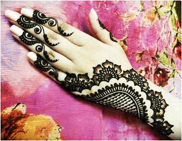 Mehndi Bracelet Designs 2016 : Bombay style mehndi design beauty and