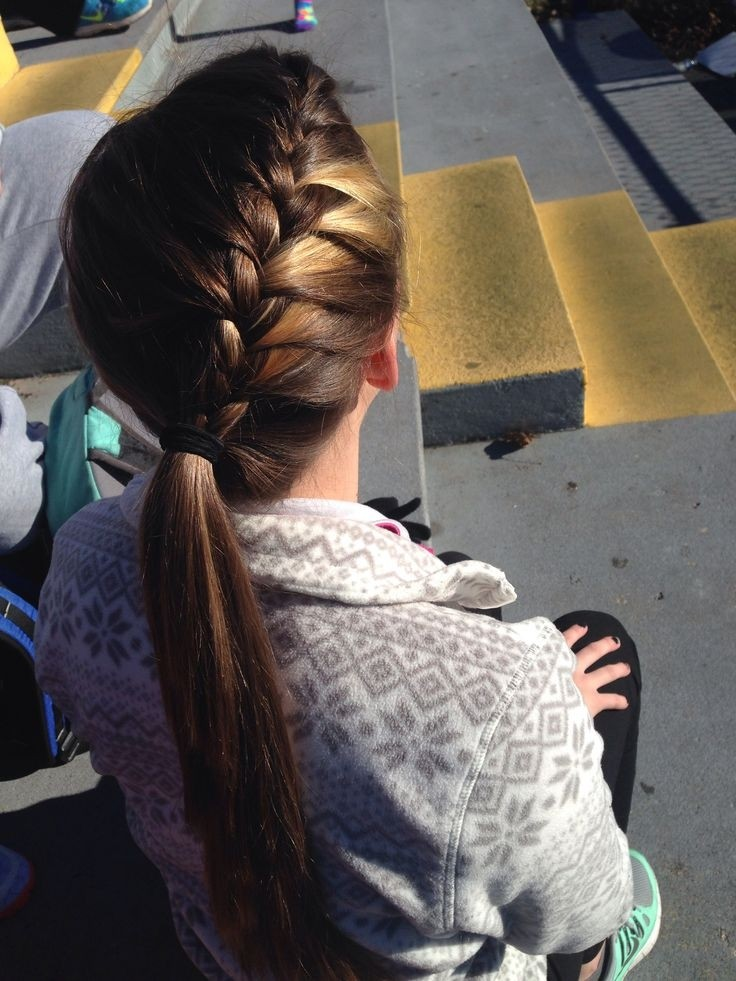 Trendy Long Hairstyle For School Girl Beauty And Style