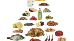 Diet for high protein and low carbohydrate