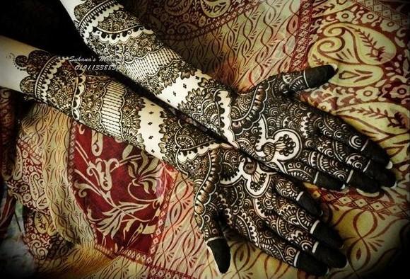 Mehndi Bridal Design : Top bridal mehndi designs beauty and style