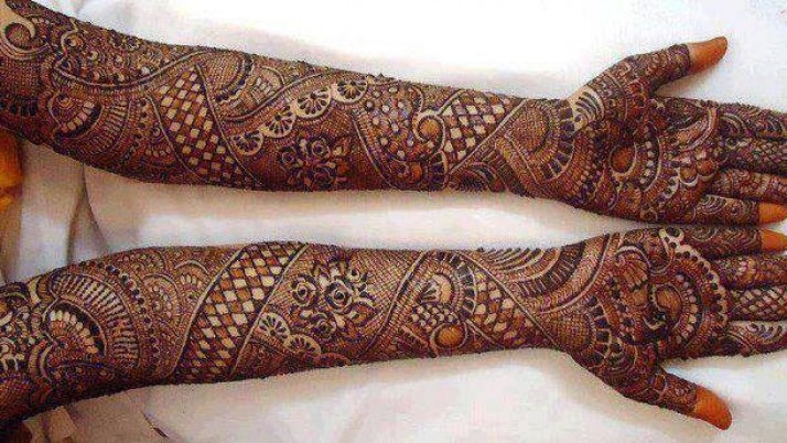 Top Bridal Mehndi Designs