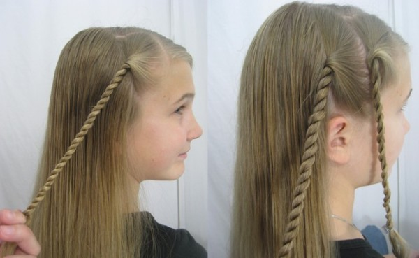 Trendy Long Hairstyle For School Girl Beauty And Style - Hairstyle for girl to school