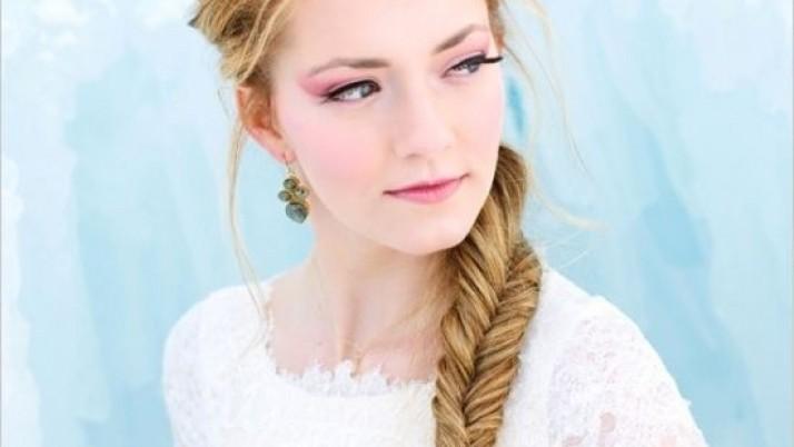 Formal Hair Style For Girls