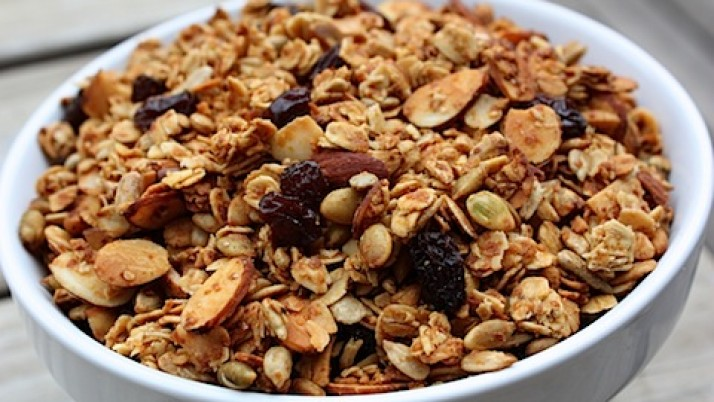 Health benefits of granola
