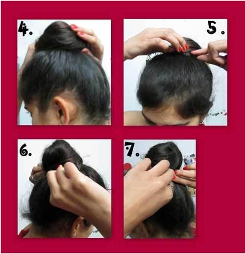 Khopa hairstyle simple Hair Khopa