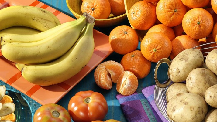 Fruits and Vegetables Rich in Potassium