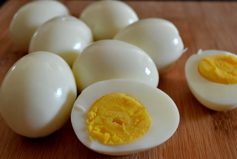 nutrients in egg boiled