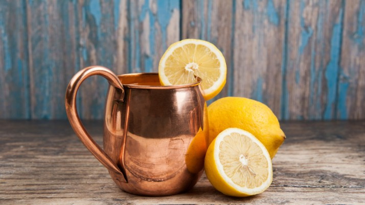 Health benefits of drinking water from a copper cup
