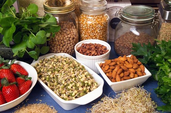 Healthy super foods