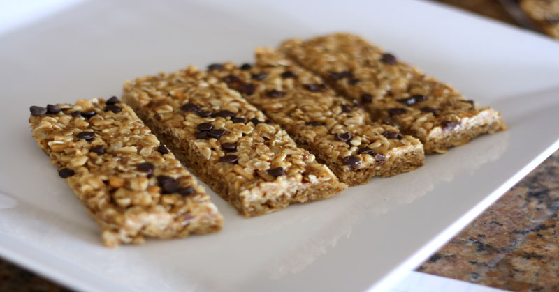 Nutritious granola bar recipes