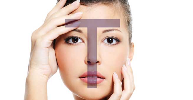 HOW TO CONTROL OIL SECRETION OF T-ZONE NATURALLY