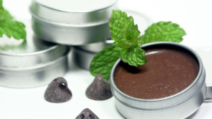 Homemade Chocolate Lip Balm