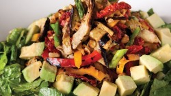 Spicy roast vegetable salad