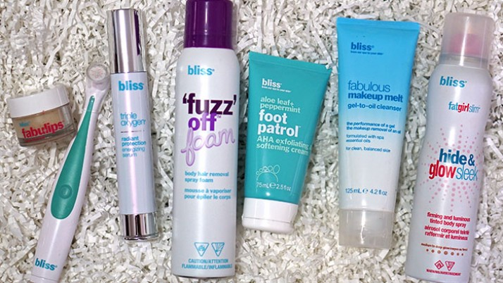 Best Bliss Skin Care Products