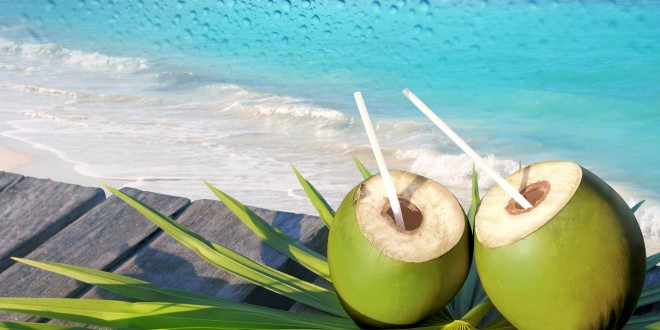 Coconut water face toner