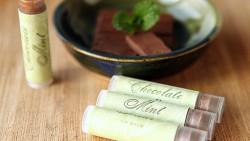 Homemade Chocolate Lip Balm