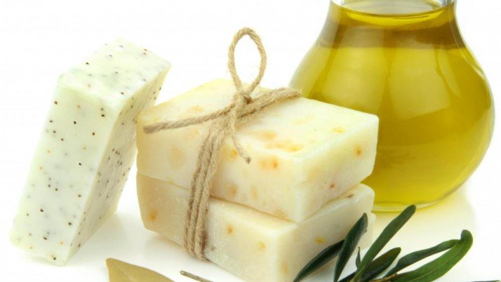 Olive oil body washes home